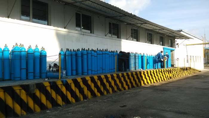 包头氧气供应生产厂房