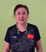 包头乒乓球培训副教练张爱莲