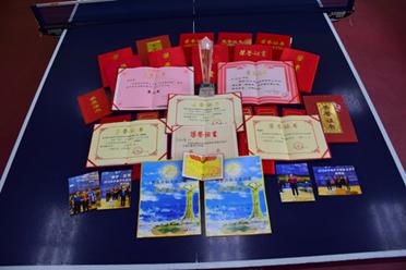 包头乒乓球培训-黄教练所获得的证书
